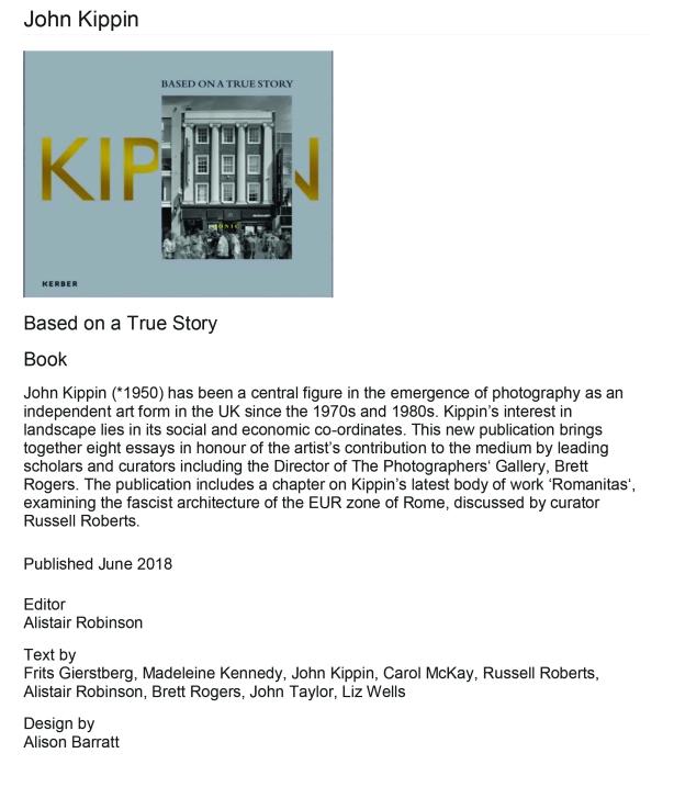 book information John Kippin